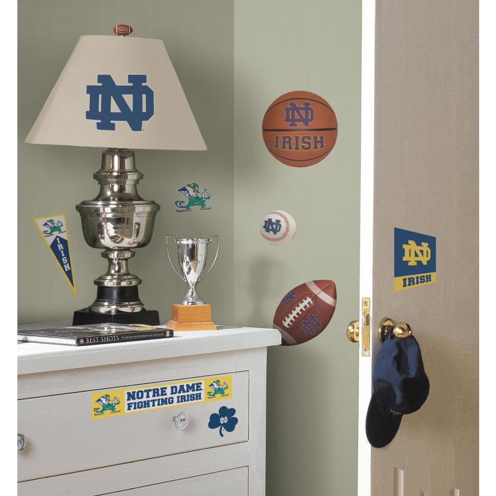 University of Notre Dame Peel And Stick Decal