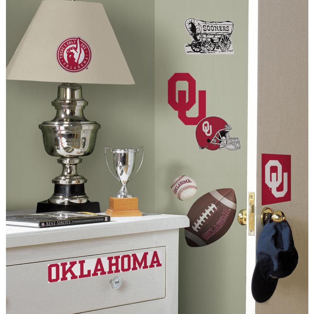 University of Oklahoma Peel And Stick Decal