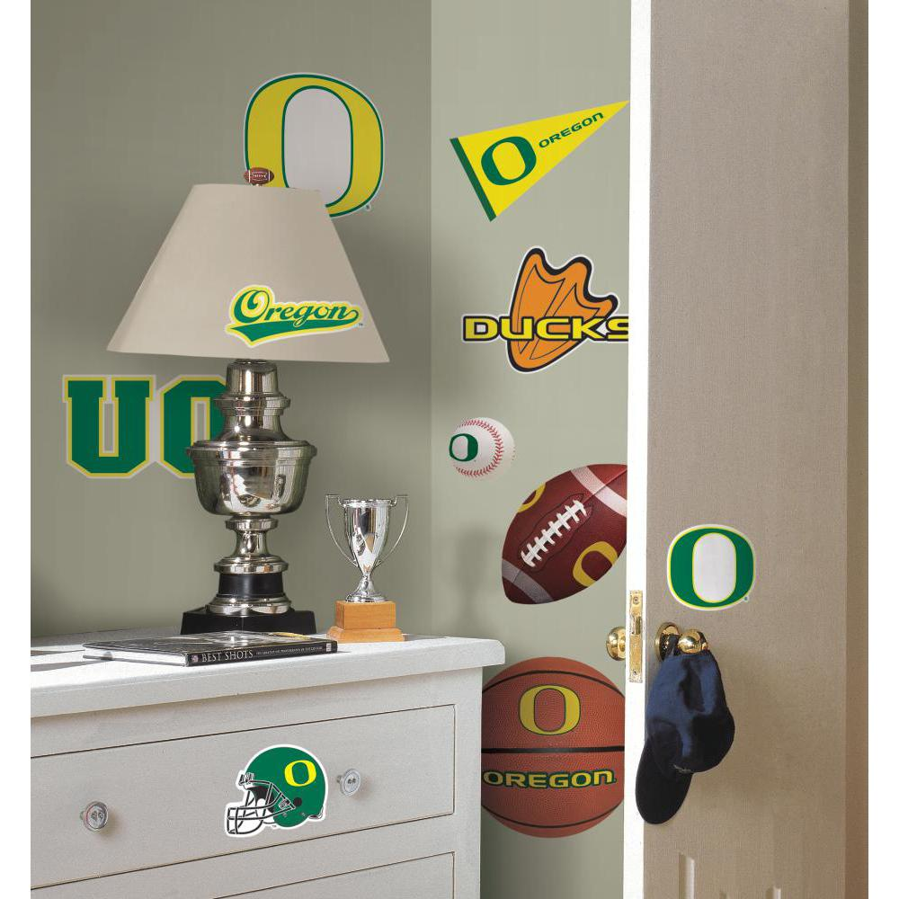University of Oregon Peel And Stick Decal