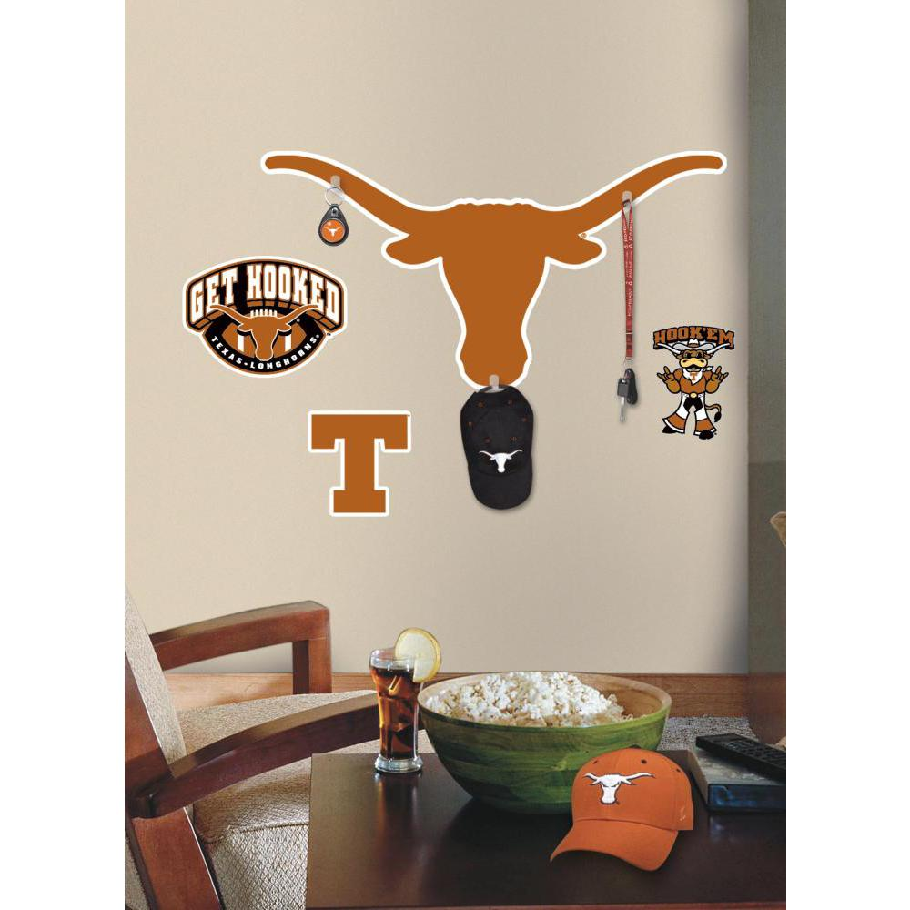 University of Texas Giant Decal w-Hooks