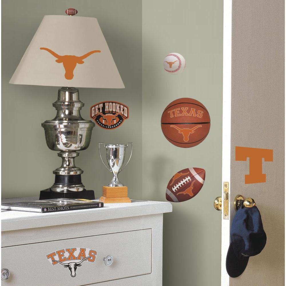 University of Texas Peel And Stick Decal