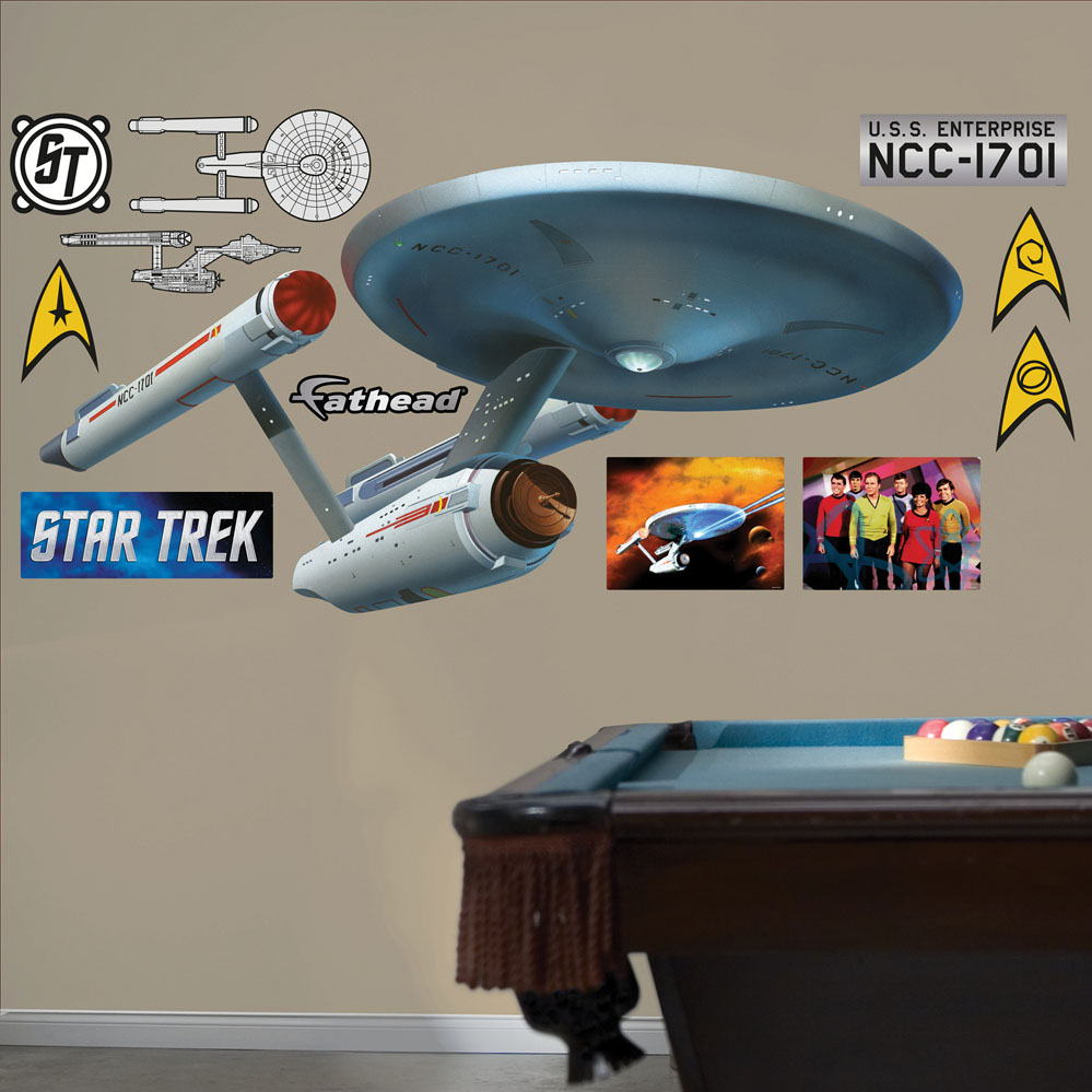 USS Enterprise REALBIG Wall Decal