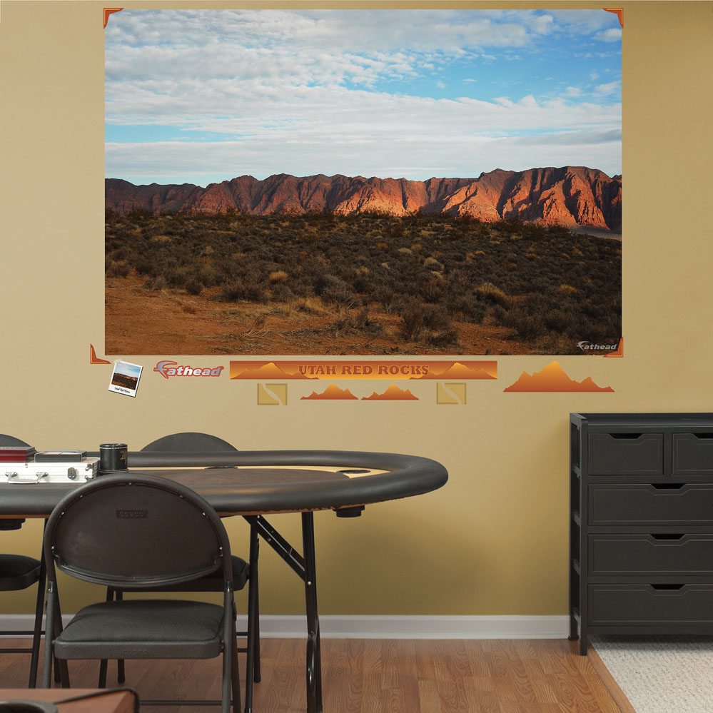 Utah Red Rocks Mural REALBIG Wall Decal