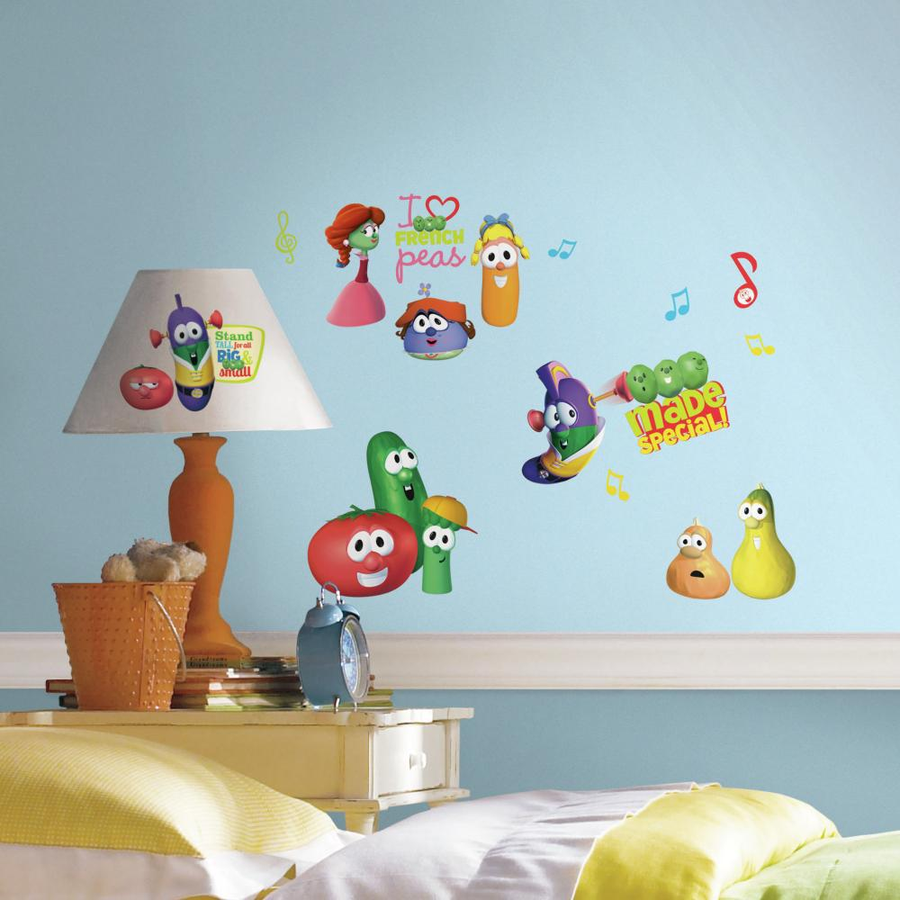 Veggie Tales Decal