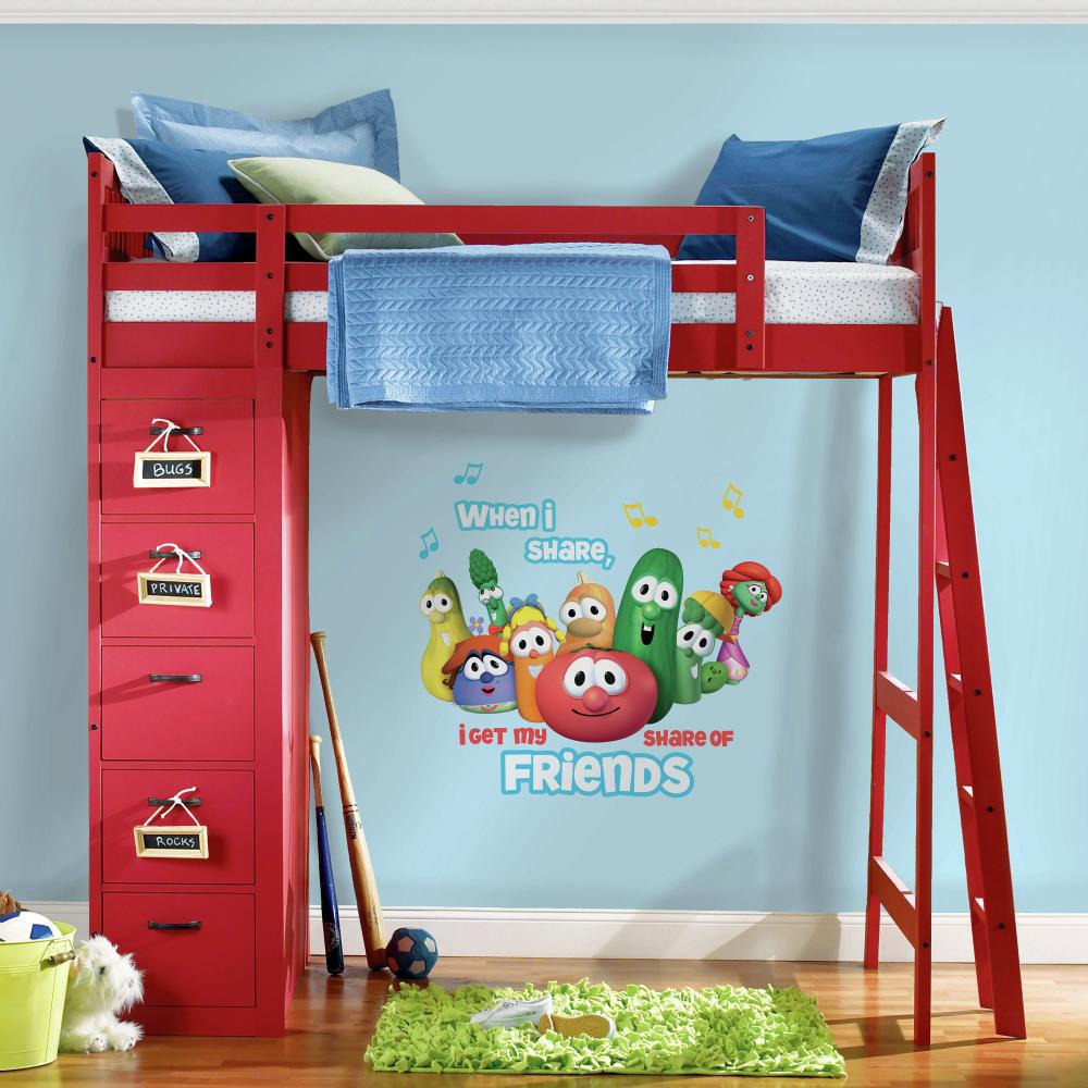 Veggie Tales Giant Decal