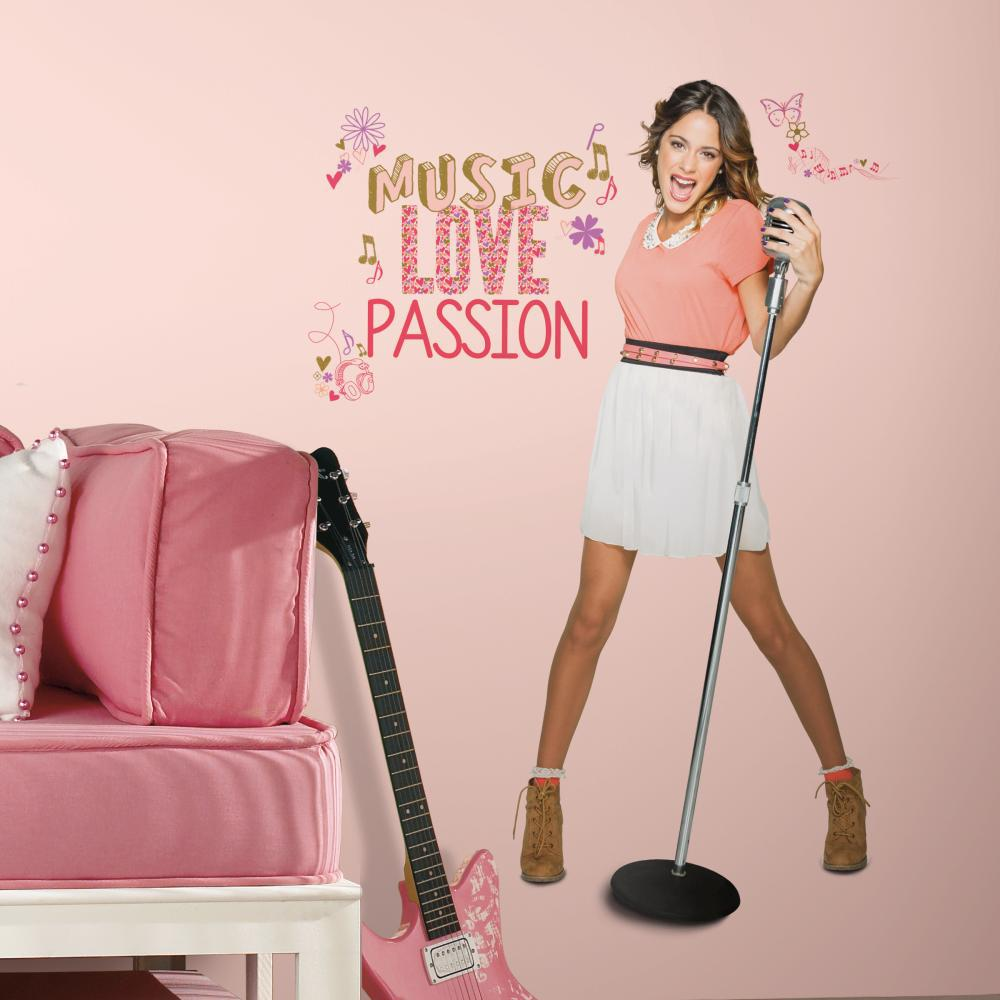 Violetta Giant Decal