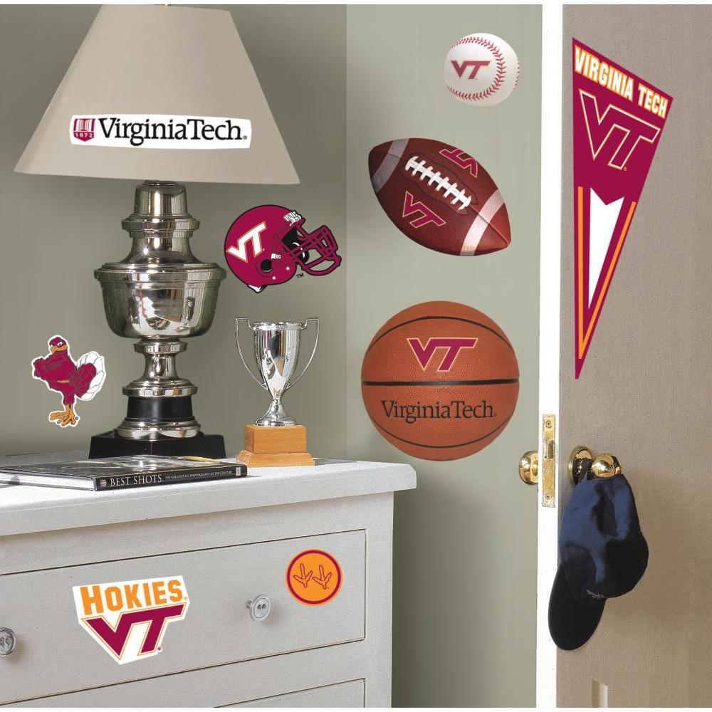 Virginia Tech Peel And Stick Decal
