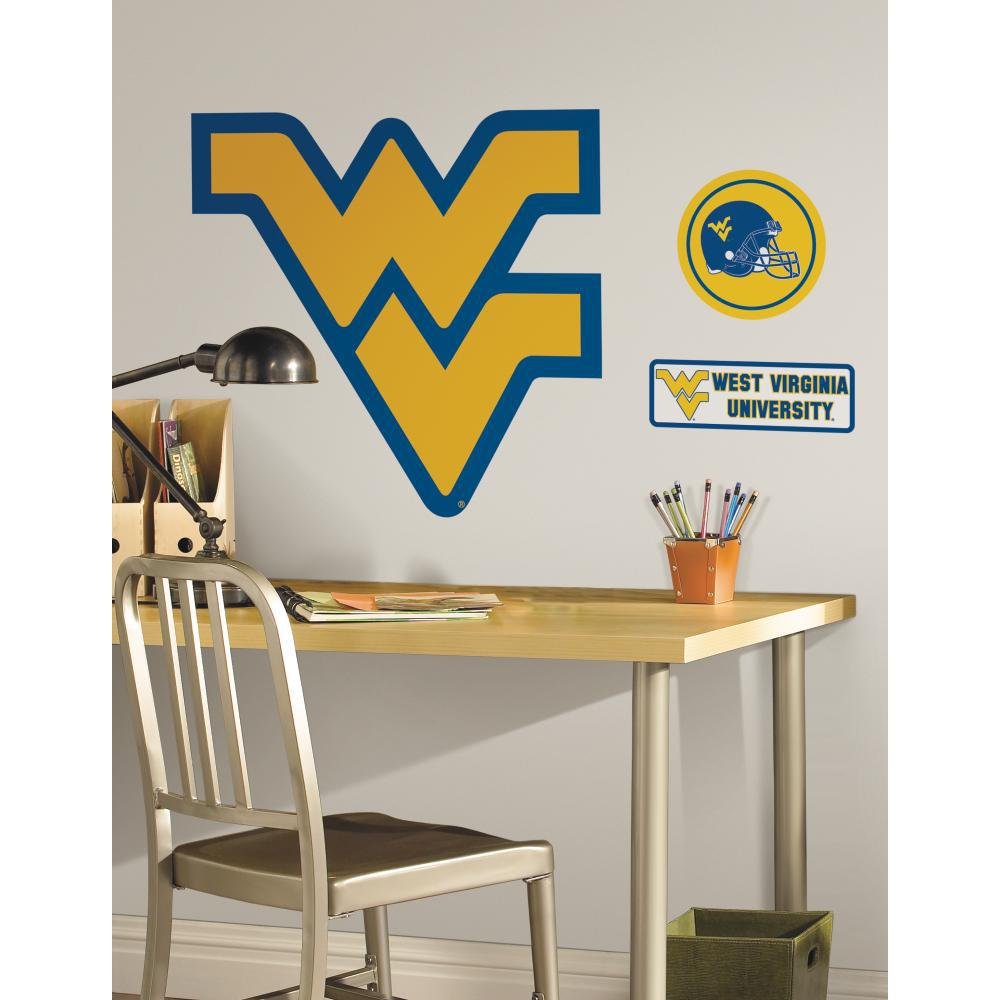 West Virginia University Peel And Stick Decal