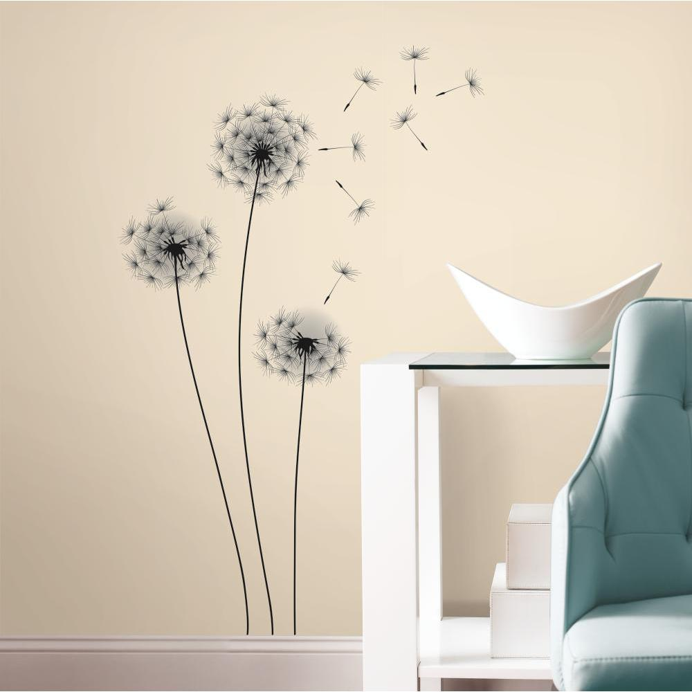 Whimsical Dandelion Giant Decal