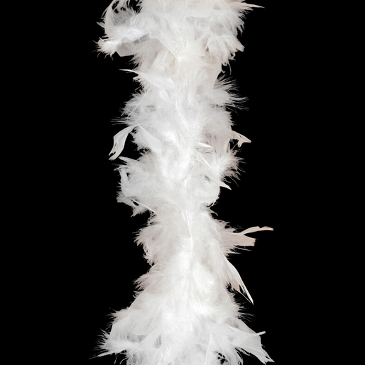 White Feather Boa (6' 35 grams)