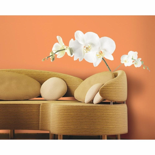 White Orchid Peel And Stick Decal