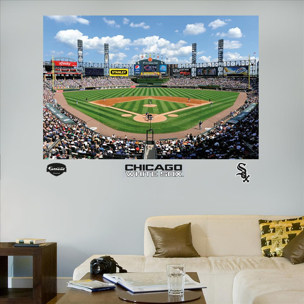 White Sox US Cellular Field Stadium Mural-Fathead