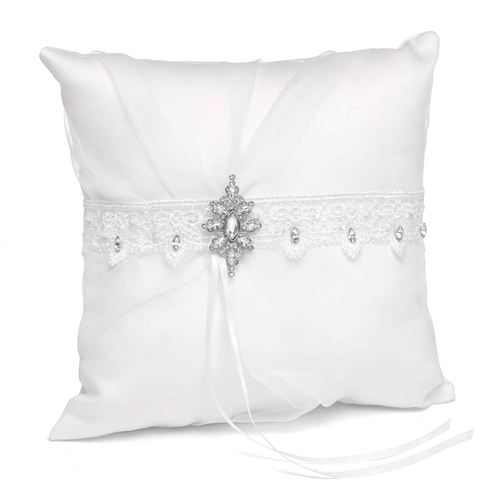 White Sparkling Elegance Pillow