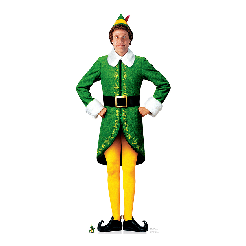 sc 1 st  Party Supplies Delivered & Will Ferrell-The Elf Lifesized Standup