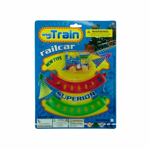 Wind Up Train With Track