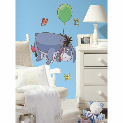 Winnie the Pooh-Eeyore Peel And Stick Giant Decal