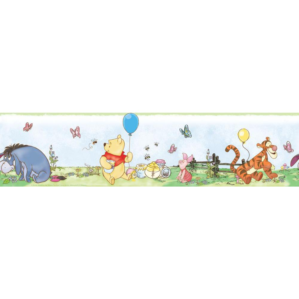 Winnie the Pooh-Toddler Peel And Stick Border