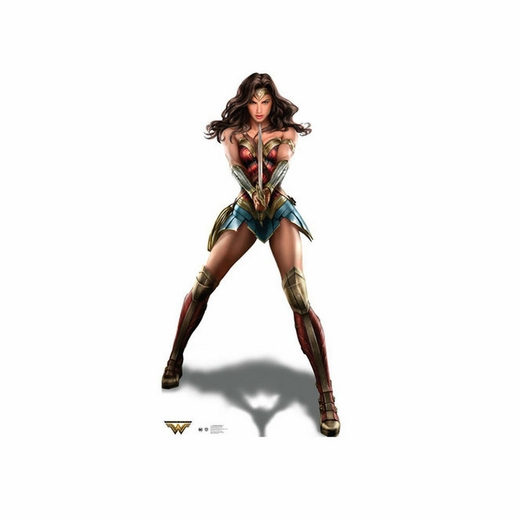 Wonder Woman Cardboard Cutout