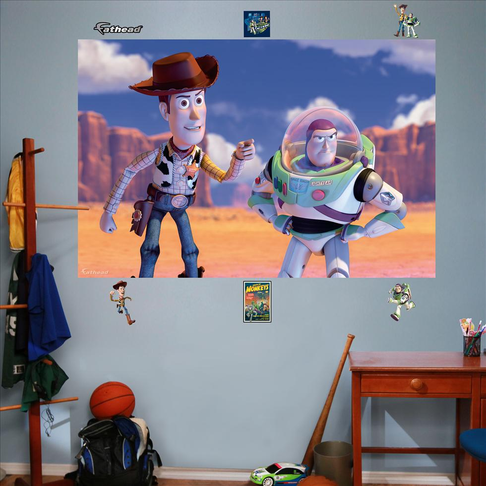 Woody And Buzz Mural-Fathead