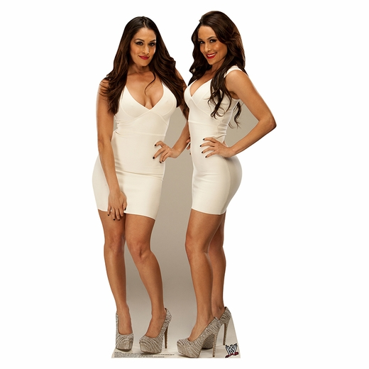 WWE Bella Twins Lifesized Standup