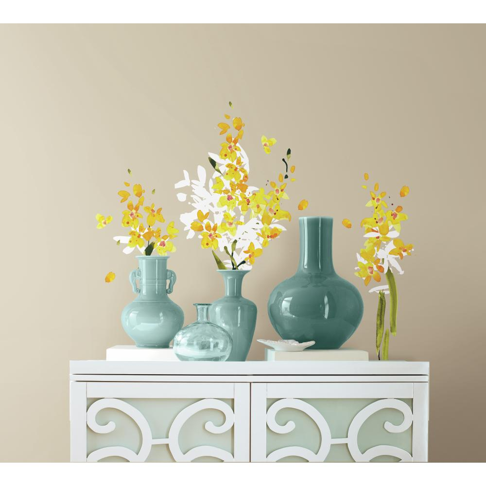 Yellow Flower Arrangement Decal