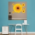 Yellow Large Daisy REALBIG Wall Decal