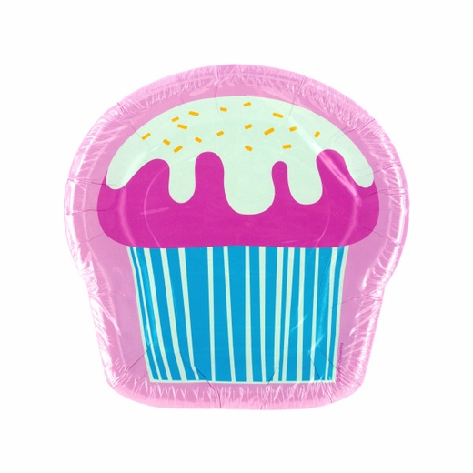 Yummy Cupcake Shaped Plates