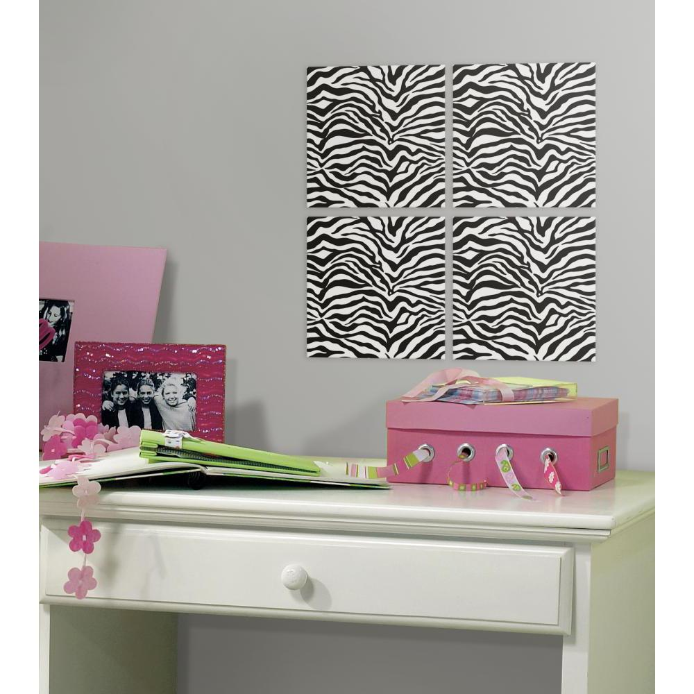 Zebra Foam Tile