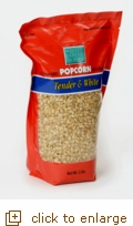 2 lb Tender & White Gourmet Popping Corn
