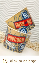 2-Pack Medium Nostalgic Popcorn Tubs