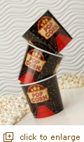 3-Ct. Small Red Carpet Popcorn Tubs