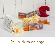 3 Pack - The A-MAIZE-ing Microwave Popcorn on the Cob