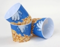 3D Popcorn Tub - Cartoon Hand