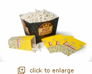 5 - Piece Popcorn Party Tub Set