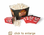 5 - Piece Popcorn Party Tubs Set