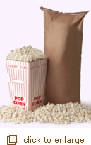 50 lbs of Tender & White Gourmet Popping Corn