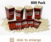 800 Dynamite Pop-Open Popcorn Tubs