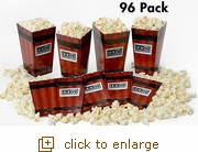 96 Dynamite Pop-Open Popcorn Tubs