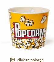 Authentic Yellow Popcorn Tub - Jumbo (Case Pack of 24)