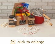 Barn Red Whirley-Pop: For the Love of Popcorn Gift Set