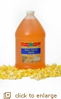 Buttery Popcorn Topping - Gallon