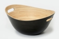 Charcoal Handcrafted Bamboo Bowl