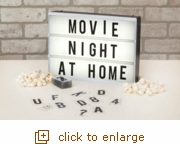 Cinema Light Box (Overstock)