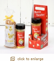 Dynamic Duo Popcorn Gift Set - Movie Theater Meets Big & Yellow