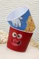 2-Pack 3D Popcorn Tubs (3D Hand and 3D Face)