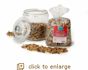 Glass Storage Canister with 6-lb. Flavorful Medley