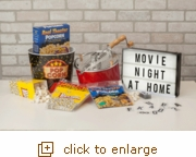 Barn Red Whirley-Pop: Movie Night & Popcorn at Home