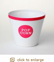 Hot Pink Rim Popcorn Bucket - Large