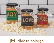 Jingle Jar Gourmet Popcorn Collection