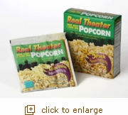 Less Salt, Less Oil Popcorn Popping Kits: 5-Pack